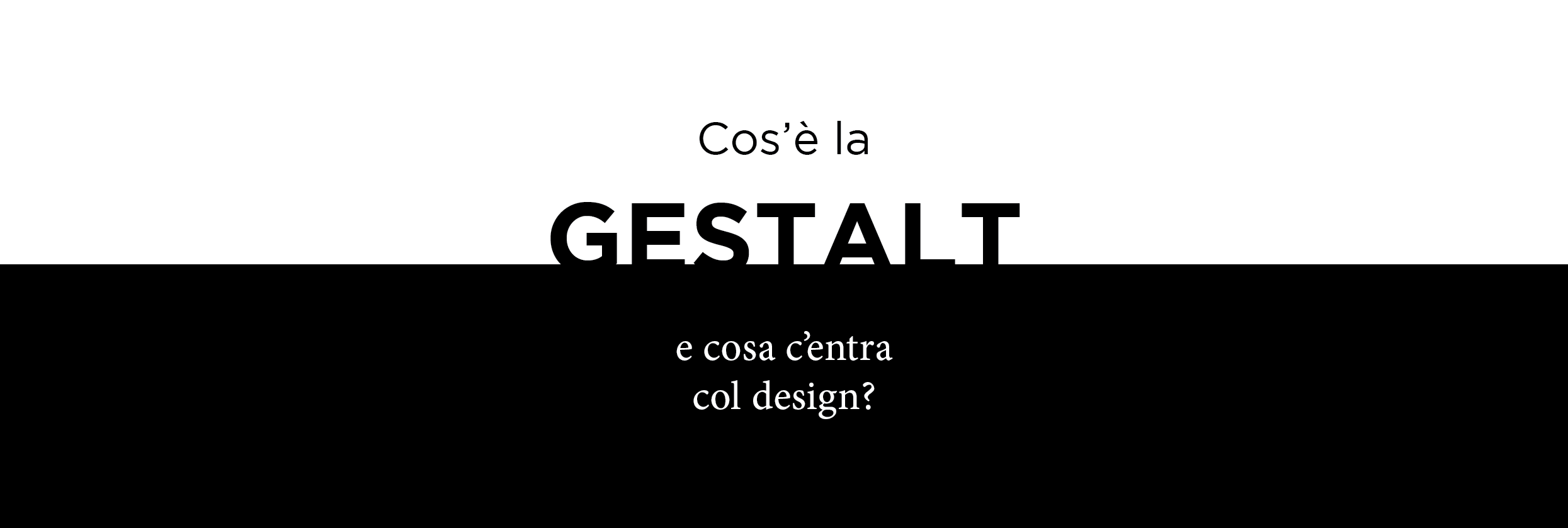 gestalt Gestalt theory in art gestalt theory, a theory about perception, holds that the whole is more than the sum of its parts it describes our ability to: recognize patterns and make associations.
