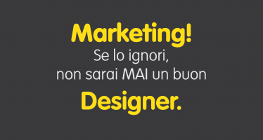 Marketing per un designer