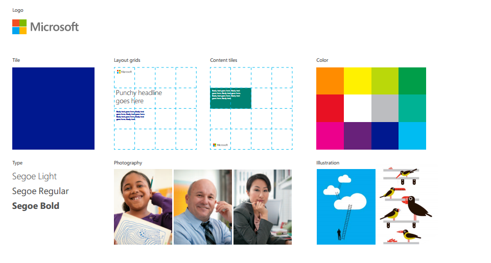 Microsoft brand manual