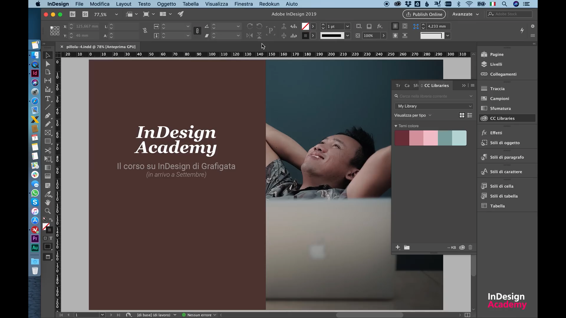 InDesign Academy - publishing