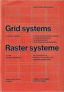 Grid system in graphic design - joseph muller brockmann